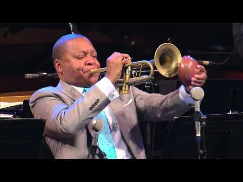 with Wynton Marsalis at the 2015 Marciac Jazz Festival