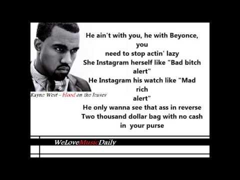 Kanye West - Blood On The Leaves [LYRICS] - YEEZUS