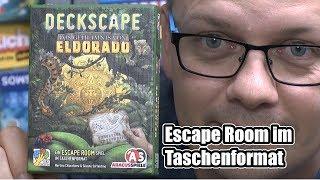 Deckscape - Das Geheimnis von El Dorado (ABACUSSPIELE) - spoilerfrei! ab 12 Jahre