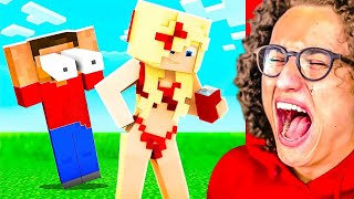IMPOSSIBLE You LAUGH You LOSE MINECRAFT Challenge!