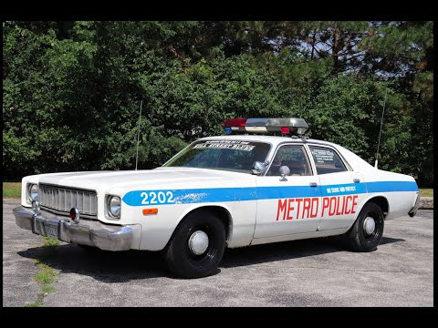 1976 Plymouth Fury Hill Street Blues TV Police Car ***FOR SALE***