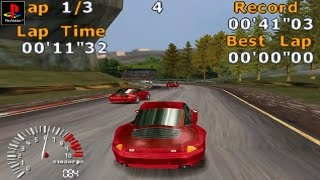 5 Stars Racing - Gameplay PSX / PS1 / PS One / HD 720P (Epsxe)