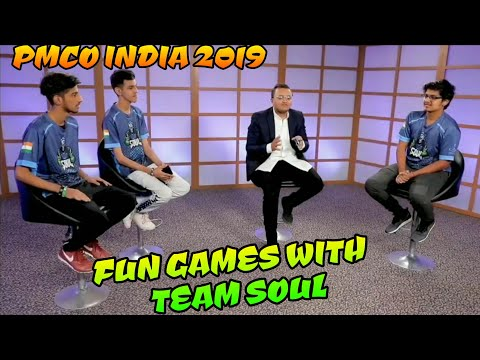 Fun games with team Soul, PMCO India finals 2019 with Mortal, Ronak, Owais