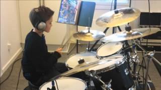 "Olly Murs Ft. Flo Rida ""Troublemaker""   Benjamin Berg Drum Cover"