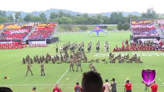 WARDANCE TUN PERAK FIT WORLD CUP RUGBY TOUCH 2019