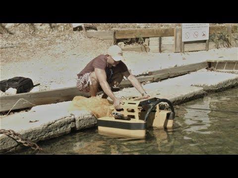 Un aspirateur flottant conçu pour nettoyer les eaux des ports !