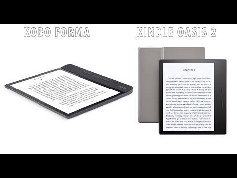 Kobo Forma vs Amazon Kindle Oasis 2