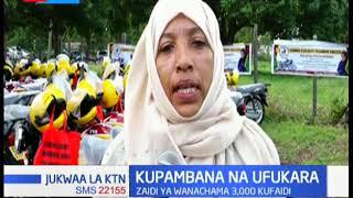 Ushirika wa kina mama kaunti ya Lamu waanzisha mradi wa bodaboda kuepuka ufukara