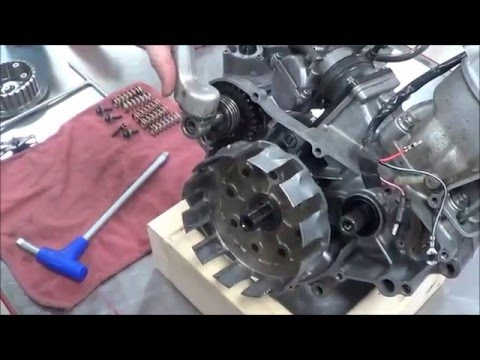 2 Stroke Engine Assembly How to install the clutch - Naijafy