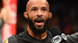 UFC Kansas: Entrevista no octógono com Demetrious Johnson