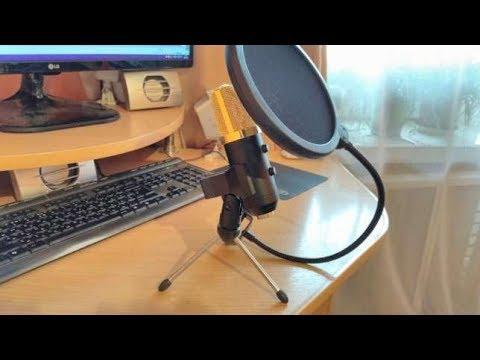 Unboxing | Microfono de Condensador BM100FX | USB | BARATO | EXCELENTE CALIDAD 2018
