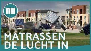 Storm verwoest openluchtbioscoop in VS   NU.nl