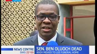 MPs mourn the death of Senator Ben Oluoch Okello