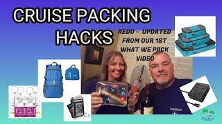 PACKING HACKS FOR A CRUISE