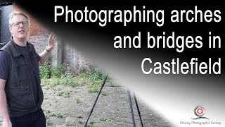 Photography in Castlefield, Manchester.