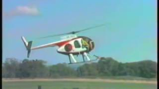 Helicopter Accident Masterton Airshow 9 March 1986 Deer capture simulation