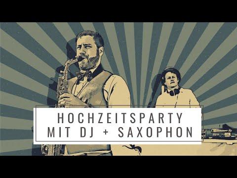 SAXOBEATZ DUO | DJ & Saxophon - auch als Solo DJ oder Solo Saxophon video preview