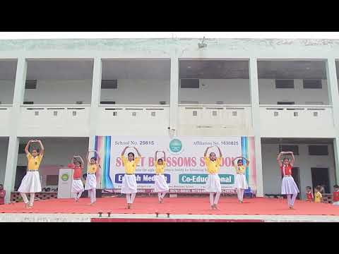 Dance performance by 5th class