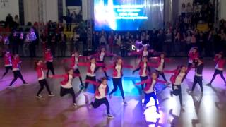 Aqua dance - FIRECRACKERS - HIP HOP Formation kids