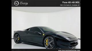 #2548A | 2011 Ferrari 458 Italia | For Sale Scottsdale, AZ