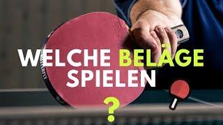 Welchen Tischtennis Belag soll ich spielen? - Top Tipps