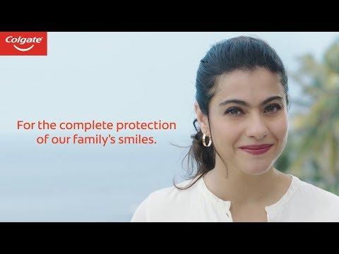 Colgate Vedshakti Ad with Kajol