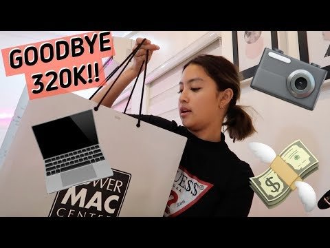 BUYING MY NEW LAPTOP & CAMERA | Rei Germar