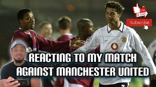 Reacting To My Match Vs Manchester United – Playing Against Ronaldo – Northampton Town V Man United