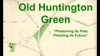 Virtual Lunch & Learn 1: Old Huntington Green