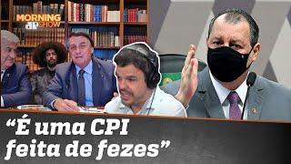Bolsonaro: 'Caguei pra CPI. Não vou responder'
