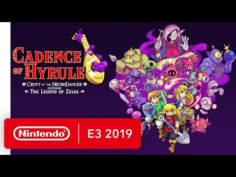 Cadence of Hyrule: Crypt of the NecroDancer Ft. The Legend of Zelda - Nintendo E3 2019 thumbnail