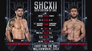 SHC XII - VISCARDI ANDRADE VS ABDOUL ABDOULRAGUIMOV - MMA