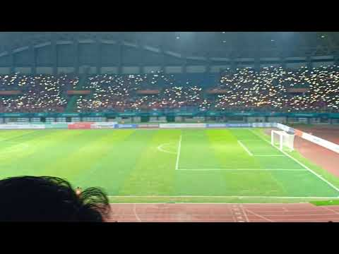 National Anthem Of Indonesia ! ASIAN GAMES 2018 : LAOS Vs INDONESIA