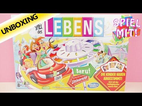 Das Spiel des Lebens | Brettspiel Klassiker mit neuen Berufen | Unboxing
