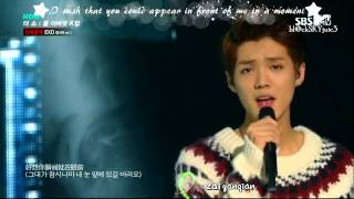 [pinyin + eng sub] EXO - Miracles in December (Chinese ver.) LIVE