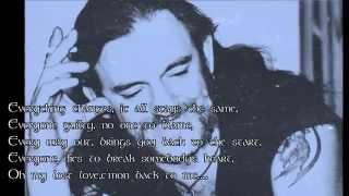 *Lemmy*Motorhead - Love Me Forever (lyrics)