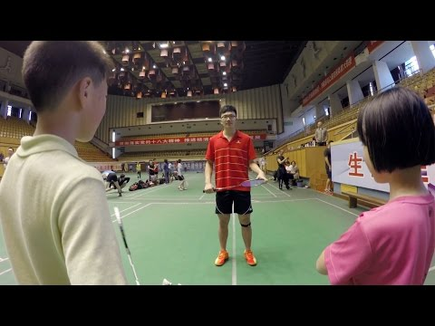 The First Person View Of Badminton Is Intense