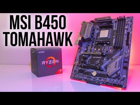 MSI B450 Tomahawk Motherboard Review