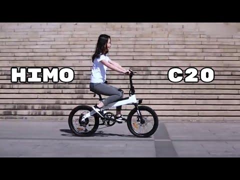 Elektrinis dviratis Xiaomi Himo Z20, baltas kaina ir informacija | Dviračiai | pigu.lt