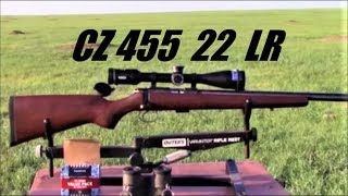 CZ 455 .22 LR    Watch the Bullets Fly.