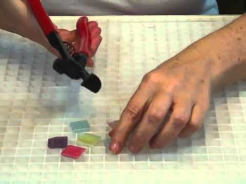 Mosaics - How to Use a Tile Nipper