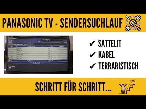 Panasonic Smart TV Sendersuchlauf. GANZ EINFACH!