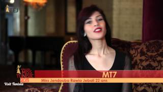Rawia Jebali Miss Tunisie 2015 contestant introduction