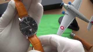 The Best Dress Watch For Around $500? - Junkers Bauhaus Swiss ETA Automatic Watch #6050-2 Review