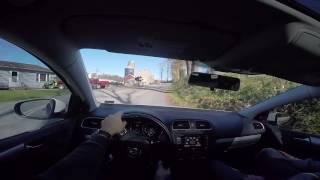 Driving a VW Golf TDI