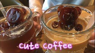 Bear Coffee Cafe in Seoul with Woojong
