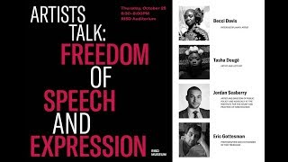 Artists Talk: Freedom Of Speech And Expression