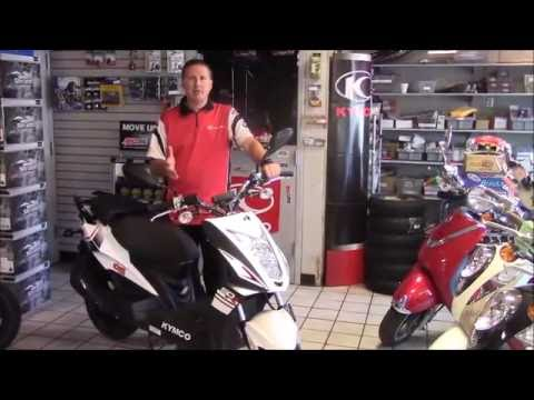 2016 KYMCO Super 8 50R & 50X Scooter Review