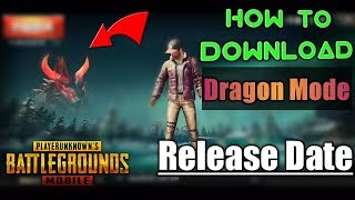 How To Download Monster Mode In Pubg Mobile | Release Date!
