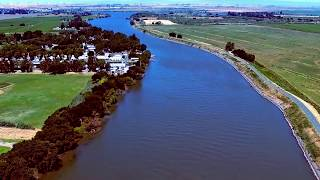 Drone flight - Sacramento River Delta